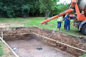 lavori costruzione piscine